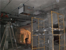 HVAC at office section