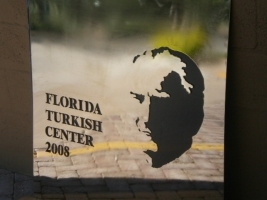 Sign for Florida Turkish Center